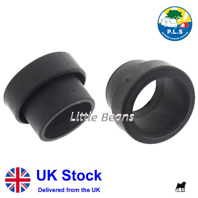 2 X Waste Water Pipe Hose Sealing Sleeve End 28.5mm - Caravan Motorhome • 2.99£