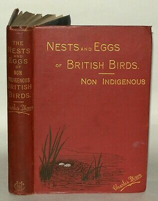 £69 • Buy The Nests And Eggs Of Non Indigenous British Birds -Charles Dixon. 1894 Hardback