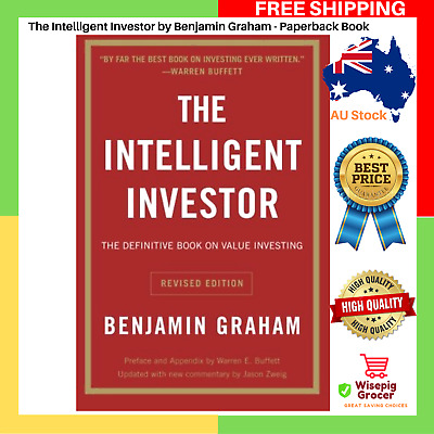 AU29.99 • Buy NEW The Intelligent Investor By Benjamin Graham Paperback Book FREE SHIPPING