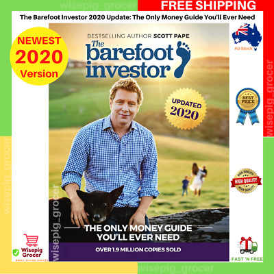 AU23.99 • Buy The Barefoot Investor Book 2019 Scott Pape The Only Money Guide You'll Ever Need