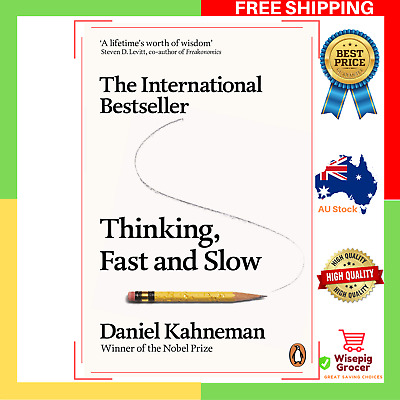 AU24.95 • Buy BRAND NEW Thinking, Fast And Slow Daniel Paperback Book | FAST AND FREE SHIPPING
