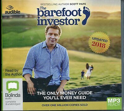 AU24 • Buy The Barefoot Investor The Only Money Guide You'll Ever Need Mp3 Audiobook CD NEW