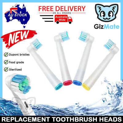 AU4.90 • Buy 4pcs PRECISION CLEAN Replacement Brush Heads For Oral-B Electric Toothbrushes