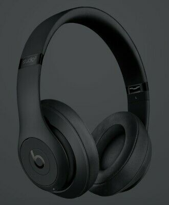 Beats By Dr. Dre - Studio3 Wireless Headphones - Matte Black • 250£