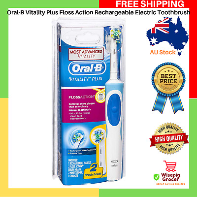AU25.99 • Buy NEW Oral-B Vitality Plus Floss Action Rechargeable Electric Toothbrush FREE SHIP