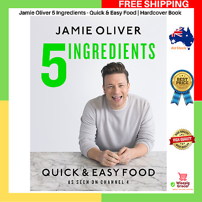 AU38.99 • Buy Jamie Oliver 5 Ingredients - Quick & Easy Food Hardcover Book NEW FREE POSTAGE