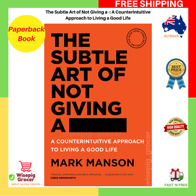 AU25.99 • Buy BRAND NEW The Subtle Art Of Not Giving A Fck F*ck F * Ck Fuck FAST FREE SHIPPING