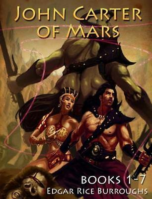 John Carter Of Mars, Books 1-7 [Mockingbird Classics] • 17.47$