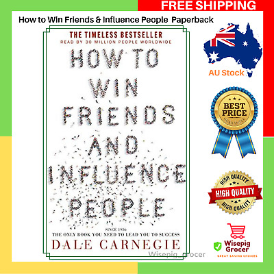 AU20.95 • Buy BRAND NEW How To Win Friends & And Influence People Paperback Book FREE SHIPPING