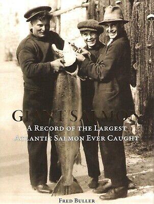 £52.50 • Buy BULLER FRED FLY FISHING BOOK DOMESDAY BOOK OF GIANT SALMON 1st USA Edition NEW