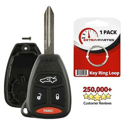 $5.95 • Buy For 2006 2007 Dodge Charger Durango Magnum Remote Uncut Key Fob Shell Case Pad