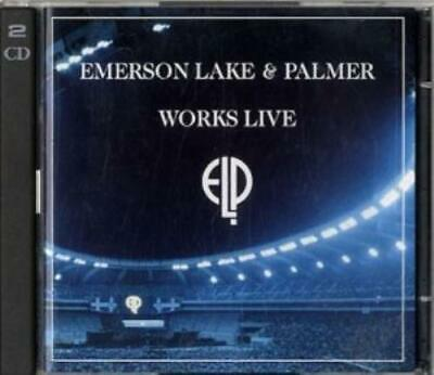 Emerson Lake & Palmer : Works (live) CD Highly Rated EBay Seller Great Prices • 10.98£