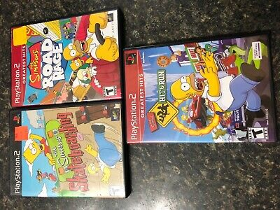 ps2 simpsons hit and run