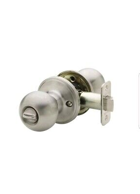 Copper Creek Ball Privacy Door Knob, Satin Stainless • 12.33£