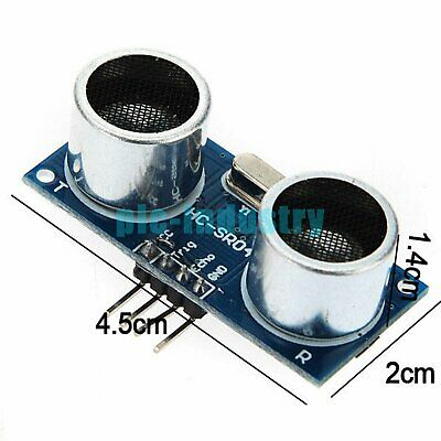 AU3.86 • Buy HC-SR04 Ultrasound Module Range Finder Distance Measuring 2-400cm For Arduino
