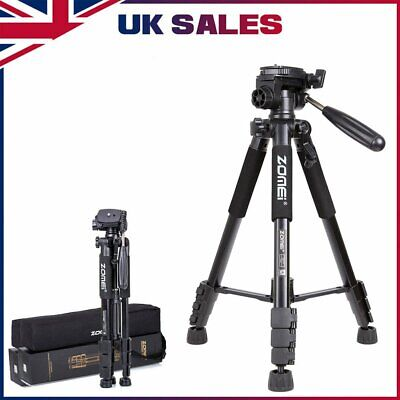 £18.79 • Buy ZOMEI Q111 Professional Portable Travel Camera Tripod For Camcorder DSLR Phone