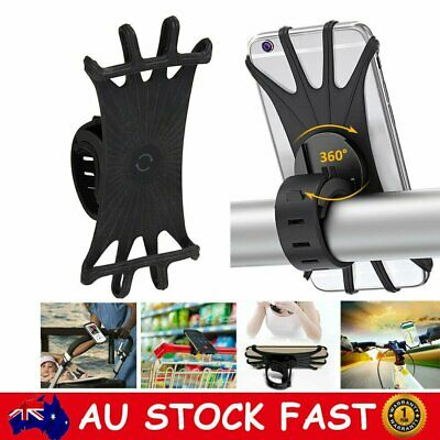 AU16.04 • Buy Universal Motorcycle Bike Bicycle Phone Mount Holder For Cellphone GPS IPhone X