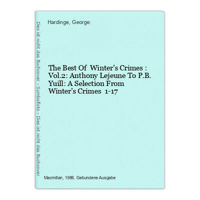 £5.84 • Buy The Best Of  Winter's Crimes : Vol.2: Anthony Lejeune To P.B. Yuill: A Selection