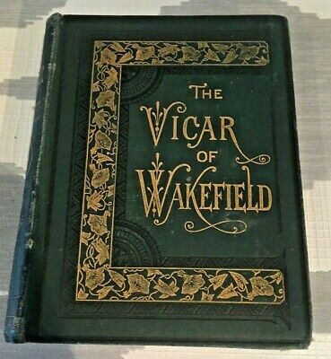 The Vicar Of Wakefield Oliver Goldsmith Warne Coloured Illustrations Hard B482 • 4£