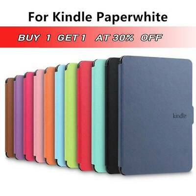 Leather Case Smart Magnetic Slim Cover For Amazon 1/2/3 Cover Kindle Paperwhite~ • 8.99£