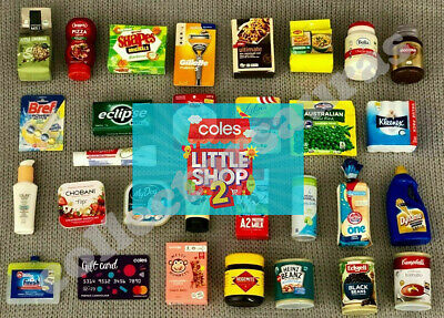AU7.99 • Buy Coles LITTLE SHOP 2 Minis - COMBINED Or Single Postage  - Select What You Need