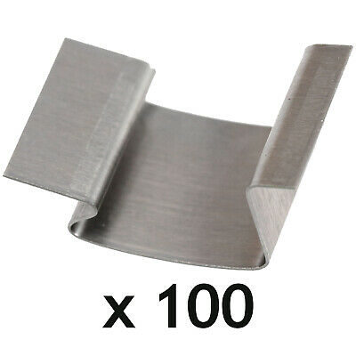Greenhouse G Clips Stainless Steel Glass Glazing Window Sprung Clips X 100 • 21.49£