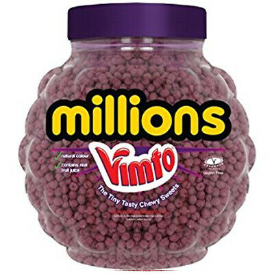 £1.74 • Buy MILLIONS VIMTO FLAVOUR SWEETS 2.27kg FULL JAR IDEAL WEDDING/PARTY BAG KIDS