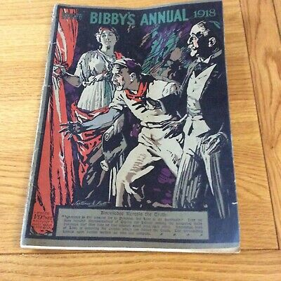 BIBBY'S. ANNUAL 1918 Magazine With Different Articles And Photos. Sewn Together • 20£