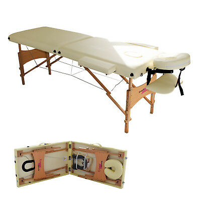 £79.99 • Buy Massage Table Bed Portable Beauty Couch Professional Folding Lightweight Salon