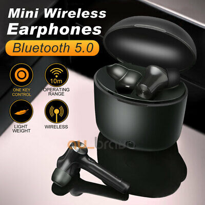 AU29.95 • Buy Bluetooth 5.0 Headset TWS Wireless Earphones Mini Earbuds Stereo Bass Headphones