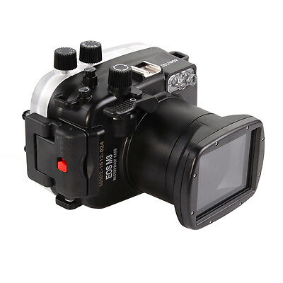 40M PRO Waterproof Underwater Camera Housing Case For Canon EOS M3 &18-55mm Lens • 126.26£
