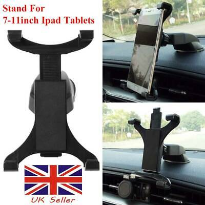 Stand 360° Car Dashboard Mount Holder For 7-11inch Ipad Air Tab Tablet PC UK • 5.53£