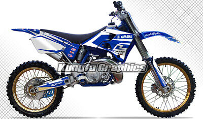 AU181.85 • Buy Full Graphics Kit MX Decal For Yamaha YZ125 YZ250 1996 1997 1998 1999 2000 2001