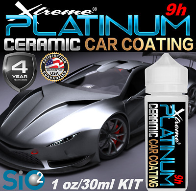 $26.95 • Buy Ceramic Car Coating Pro Grade Platinum Paint Protection Wet Look High Gloss