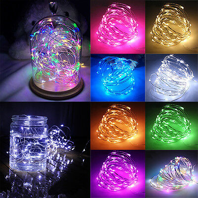 £3.99 • Buy Fairy Lights LED Mains Battery String Outdoor Christmas Tree Party Bedroom Decor