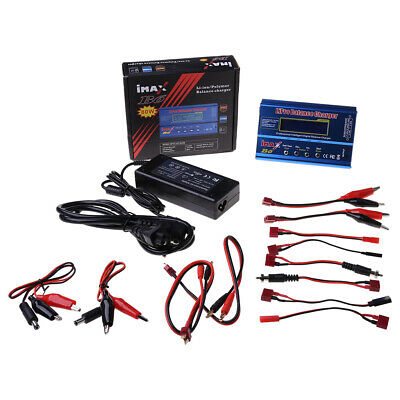 AU47.54 • Buy IMAX B6 Charger Professional RC Digital Lipo NiMh Battery Charge+AC Adapter