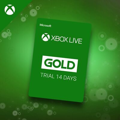 $4.99 • Buy Microsoft Xbox Live Gold 14 Day Trial Code Card