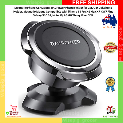AU22.99 • Buy Magnetic Phone Holder For Car Dashboard Car Phone Mount Super Strong Magnet NEW