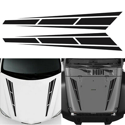 AU4.96 • Buy 80x12cm Car Racing Truck Hood Stripe DIY Decal Graphic Sticker Car Accessories