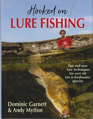 £27.45 • Buy GARNETT ANGLING BOOK LIGHT TACKLE HOOKED ON LURE FISHING IN SEA & FRESHWATER New