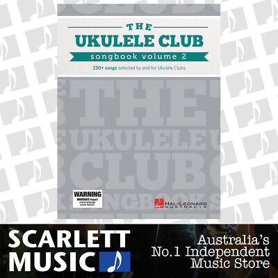 AU44.14 • Buy Ukulele Club Songbook Vol 2 (Softcover Book)