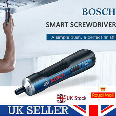 View Details Bosch Go 3.6V Portable Smart Cordless Screwdriver 6 Gears Electric Screw Tool UK • 31.99£