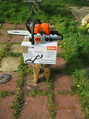 View Details STIHL Chainsaw MS170 - 12in Bar 31cc Brand New BUY IT NOW FREE POST ASAP Eb • 199.00£