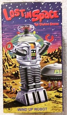 AU65.28 • Buy LOST IN SPACE ROBOT B-9 Masudaya Japan Wind-Up
