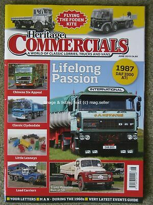 £4.99 • Buy Heritage Commercials June 2019 Foden Albion Clydesdale Austin K Series MAN 1960s
