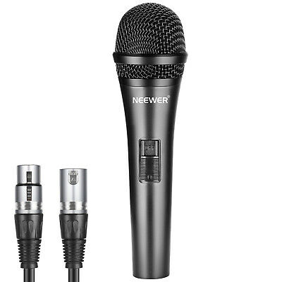 AU28.99 • Buy Neewer Cardioid Dynamic Microphone With 3.5mm Male To XLR Female Cable