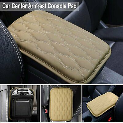 $13.99 • Buy Universal PU Leather Car Center Console Armrest Cushion Mat Pad Cover Beige