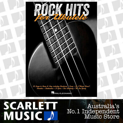 AU35.95 • Buy Rock Hits For Ukulele (Softcover Book)