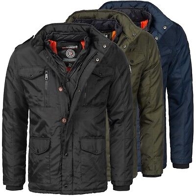 132a Geographical Norway elegante GIACCA UOMO Giacca invernale stepjacke NUOVO
