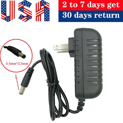 US 7.5V 1A 1000mA Power Supply Adapter Charger Cord AC/DC 100-240V  5.5mmx2.1mm • 5.99$